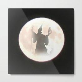 Wizard Moon Metal Print