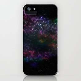 Violet Stars iPhone Case