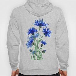 blue cornflower Hoody