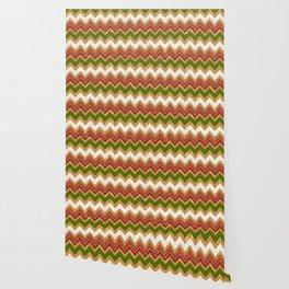 Christmas zigzag pattern Wallpaper