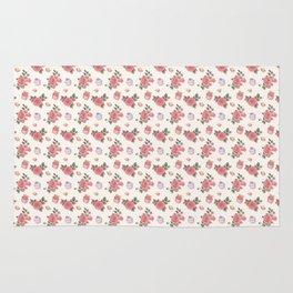 Pink Cupcake Florals Rug
