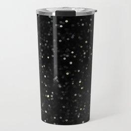 Bokeh Snowfall 2 Travel Mug