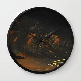 Spar Abstract Wall Clock