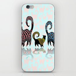 CASHMERE CATS iPhone Skin