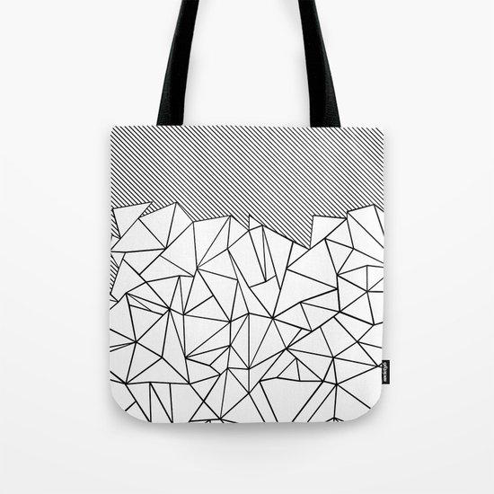 Ab Lines 45 Tote Bag
