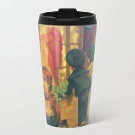 Decoupage Ladies, Gentlemen and Children Travel Mug