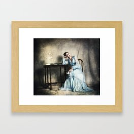 The Ennui of Tea Framed Art Print