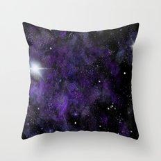 Jam Nebula Throw Pillow