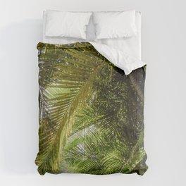 Giant Palms Comforters