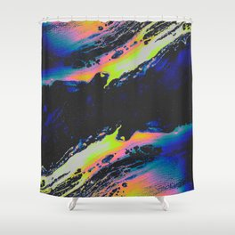 THE INTERLUDE Shower Curtain