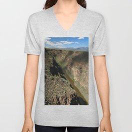 Rio Grande Gorge Unisex V-Neck