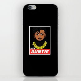 Hey Auntie iPhone Skin