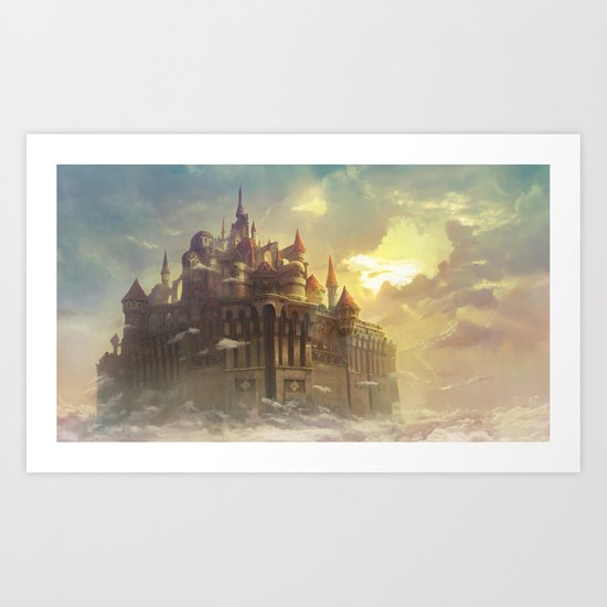 High castle Art Print