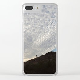 Cloudy Roll Clear iPhone Case