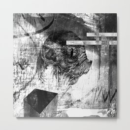 Kotoludź - ZONA Metal Print