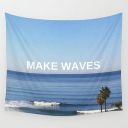 Make Waves Wall Tapestry