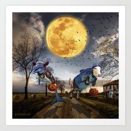 Halloween - Trick or Treat Art Print