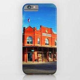 H.D. Gruene Building, Gruene iPhone Case