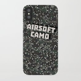 Airsoft Camo iPhone Case