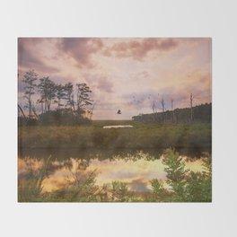 Refuge Sunset Throw Blanket