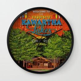 Kawartha on the Lakes Wall Clock