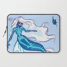 Ghost mermaid Laptop Sleeve