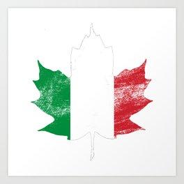 Italy/Canada Art Print