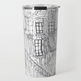 Urban doodle Travel Mug