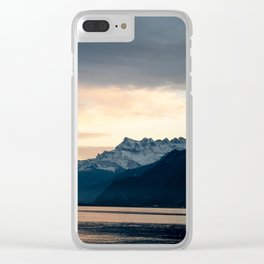 Gates to Valais - Switzerland Clear iPhone Case