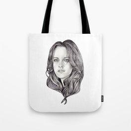 Kristen Stewart Tote Bag