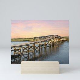 Sandwich Boardwalk Mini Art Print