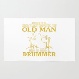 Old Man - A Drummer Rug