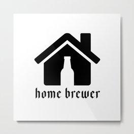Home Brewer Metal Print