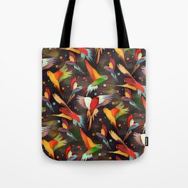 Fluttering Wings of Color Tote Bag