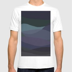 Sea Two Mens Fitted Tee White MEDIUM