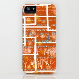 Orange Room iPhone Case