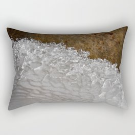 Frozen Wave - photograph by Teresa Thompson Rectangular Pillow