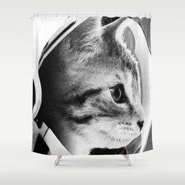 Astronaut Cat 2 Shower Curtain