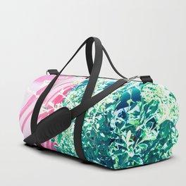 Bicolor Duffle Bag