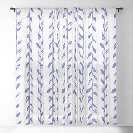 Vintage Floral 02 Sheer Curtain