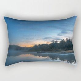 Pendleton Dawn Lake Rectangular Pillow