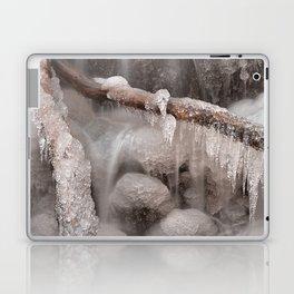 Frozen Winter Waterfall Laptop & iPad Skin