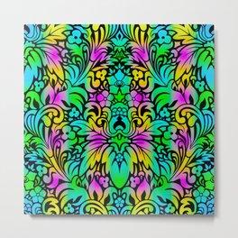 Odyssey Mandala Pastel Backdrop Metal Print
