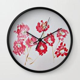 In The Lover's Garden Wall Clock