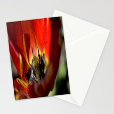 Red Tulip 2 Stationery Cards
