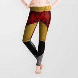 Abstract #155 Leggings
