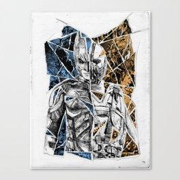 TORN Canvas Print
