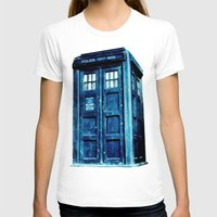 tardis T-shirts featuring TARDIS by Hands in the Sky