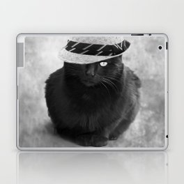 Cat with hat Laptop & iPad Skin