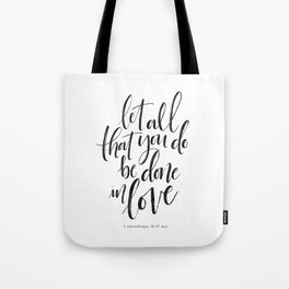 Done in Love Tote Bag